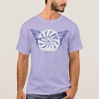 HANG GLIDING HG-CIRCLE 007 Ponto Central T-Shirt