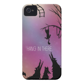 Hang in There iPhone 4 Phone Case