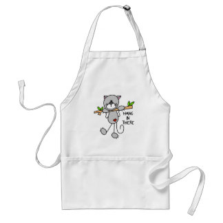 Hang In There Kitty Apron