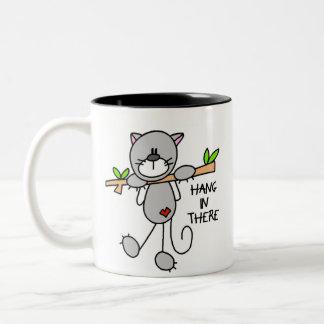 Hang In There Kitty Mug