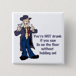 Hang On! 15 Cm Square Badge
