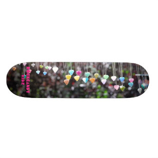 hang on hearts skate deck