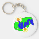 Hang on to Hope Keychain