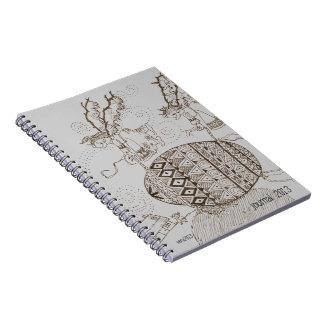 Hang On to Your Pysanka Ukrainian Fantasy Art Note Books