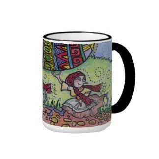 Hang on to Your Pysanka Ukrainian Folk Art Mugs