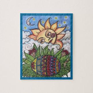 Hang on to Your Pysanka Ukrainian Folk Art Puzzle