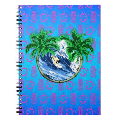 Hang Ten Spiral Notebooks