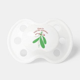 Hang The Mistletoe! BooginHead Pacifier