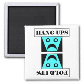 Hang Ups/Fold Ups - Laundry Square Magnet