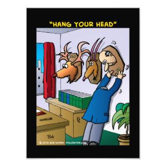 """Hang Your Head"" Photo Art"