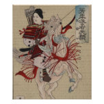 Hangakujo, Female Samurai circa 1885 Print