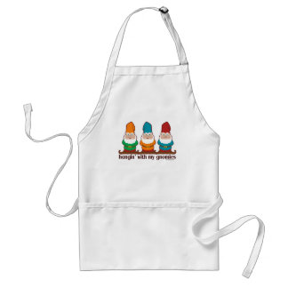 Hangin' With My Gnomies Standard Apron