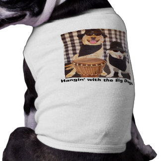 Hangin' with the Big Dogs Sleeveless Dog Shirt