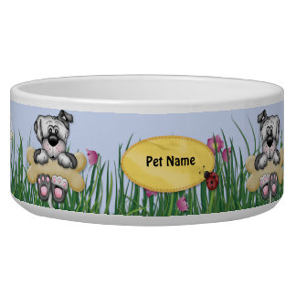 Hanging Around Dogs - Customize Name