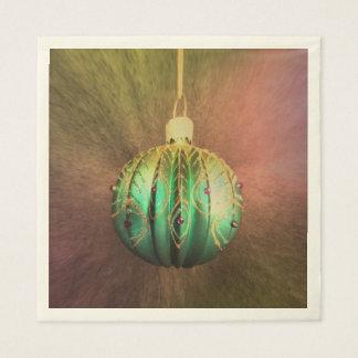 Hanging Around For Christmas Disposable Napkin