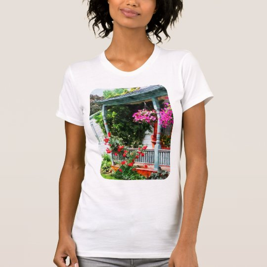 Hanging Baskets and Climbing Roses T-Shirt
