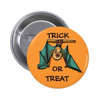 Hanging Bat Pinback Buttons