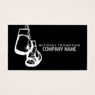 Hanging Boxing Gloves Stamp Effect