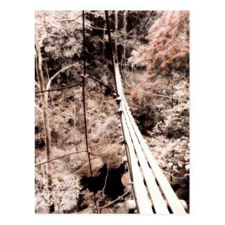 hanging bridge postcards