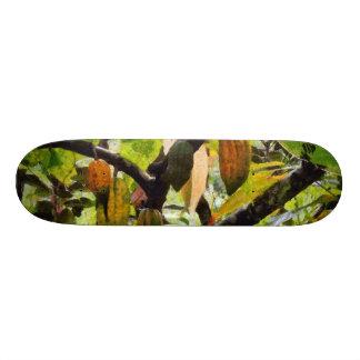 Hanging fruit skate board