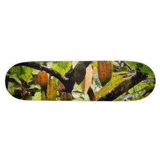 Hanging fruit skate decks