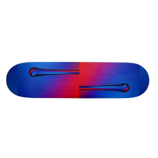 Hanging glass stick skateboard decks