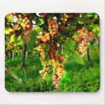 Hanging Grapes on the Vines Mousemats