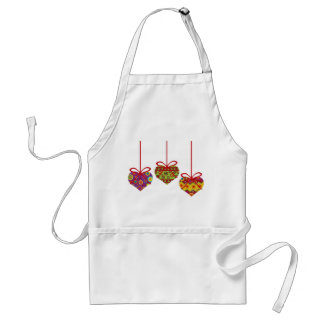 Hanging Heart Ornaments Apron