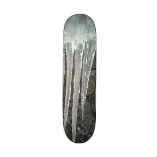 hanging icicle skate boards