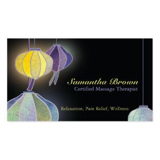 Hanging Lanterns Holistic Health Business Cards