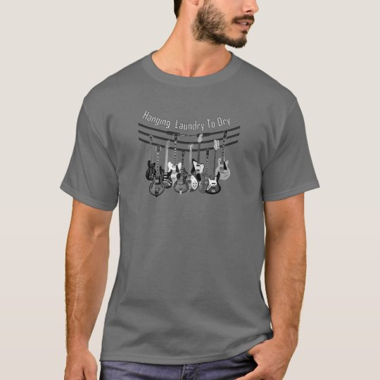 Hanging Laundry To Dry T-Shirt