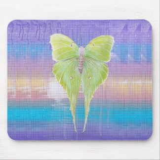 Hanging Moth Mouse Pad