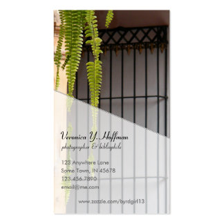 Hanging Plant Business Card Templates