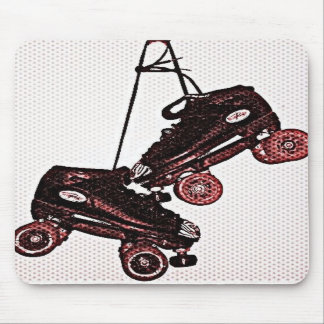 Hanging Skates Pop Art Dubbed Mouse Pad