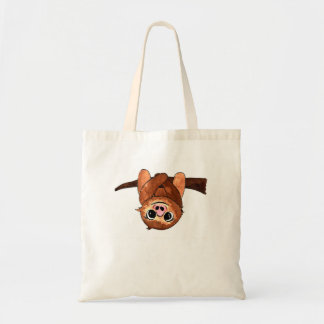 Hanging sloth tote bag