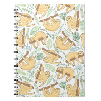 Hanging Sloths Notebook