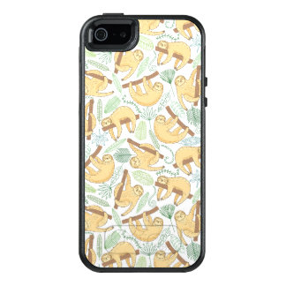 Hanging Sloths OtterBox iPhone 5/5s/SE Case