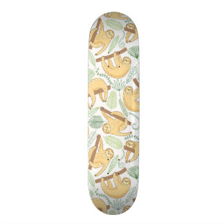 Hanging Sloths Skateboard Decks