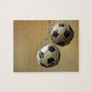 Hanging Soccer Balls Jigsaw Puzzle