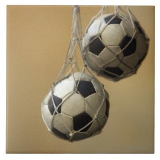 Hanging Soccer Balls Tile