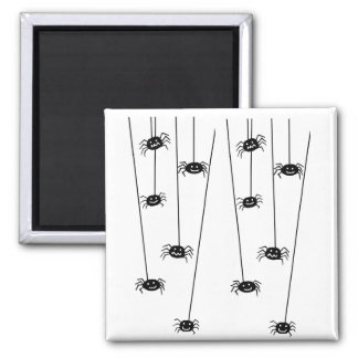 Hanging Spiders magnet