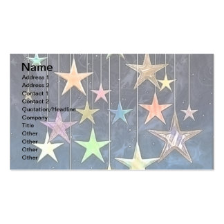 HANGING STARS BUSINESS CARDS