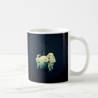 Hanging the moon coffee mug