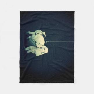 Hanging the moon fleece blanket