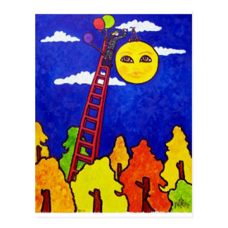Hanging the Sun Postcard