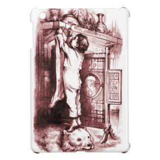 Hanging up the Christmas stocking iPad Mini Case