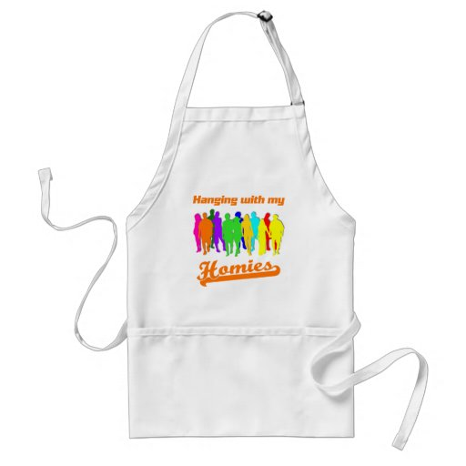 Hanging with my Homies Apron