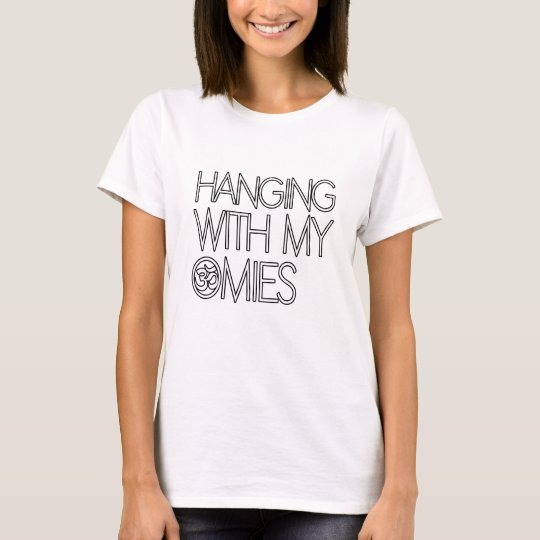 Hanging With My Omies Yoga Gift T-Shirt