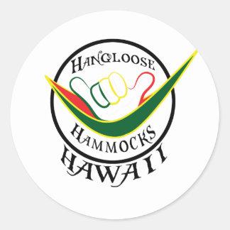 HANGLOOSE HAMMOCK HAWAII- SHAKA STICKERS
