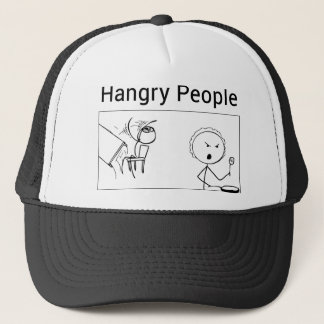 Hangry People Trucker Hat